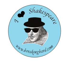 Breaking Bard sticker